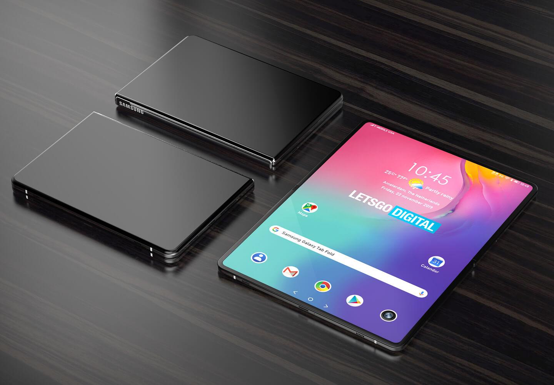 Opvouwbare tablet