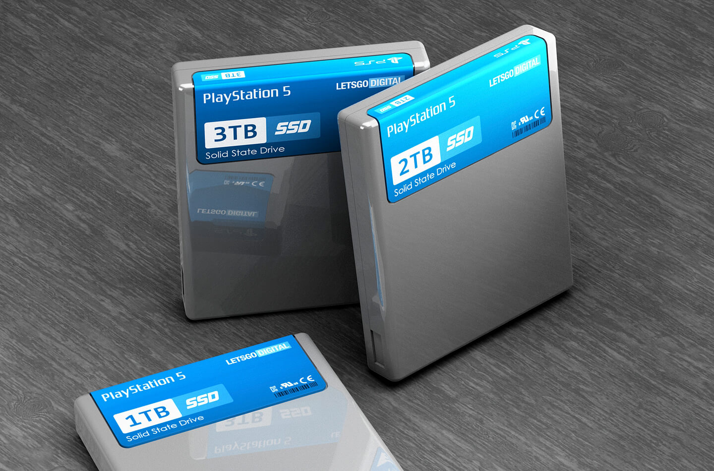 PS5 SSD geheugen
