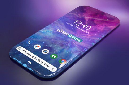 Samsung Galaxy One smartphone