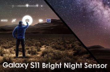 Samsung Galaxy S11 camera sensor