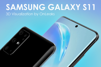Samsung Galaxy S11 smartphone design