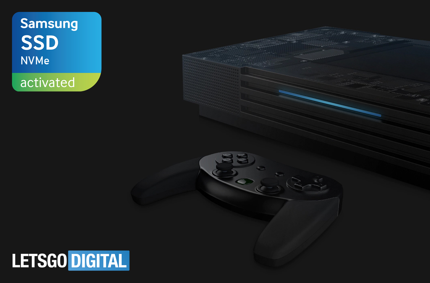 Samsung NVMe SSD game console