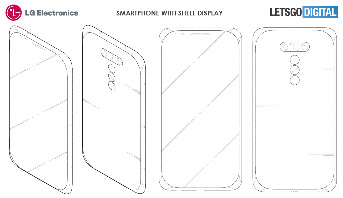 Smartphone shell display