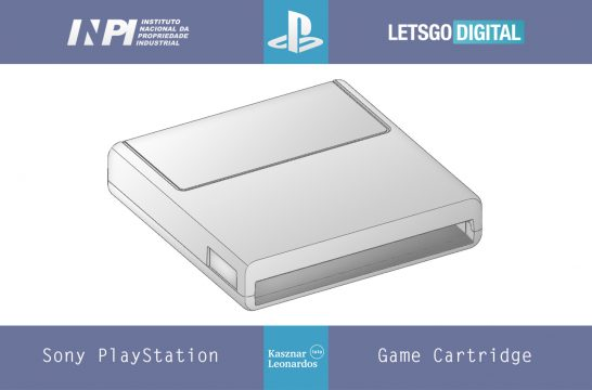 Sony PlayStation game cartridge
