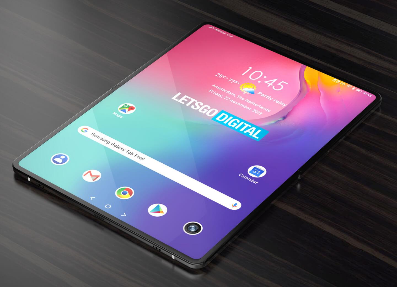Tablet met groot scherm