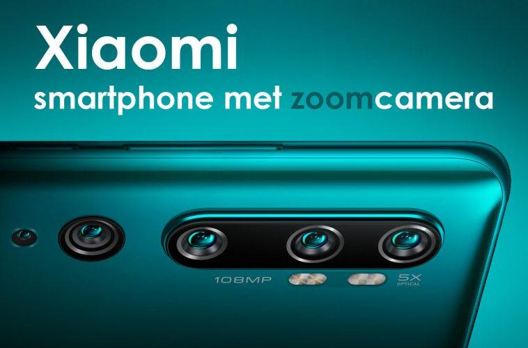 Xiaomi smartphone zoomcamera