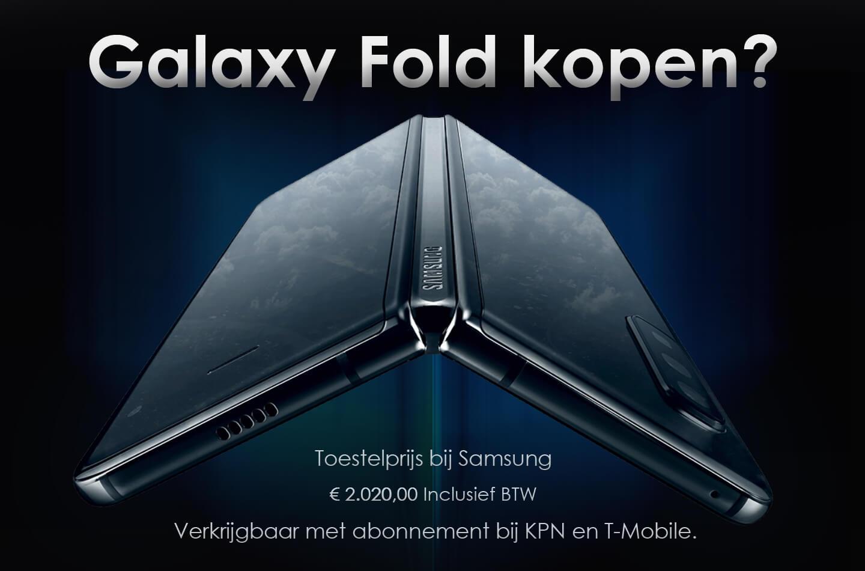 Galaxy Fold prijs abonnement