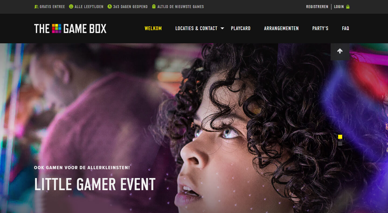 Game Box arcade speelhal
