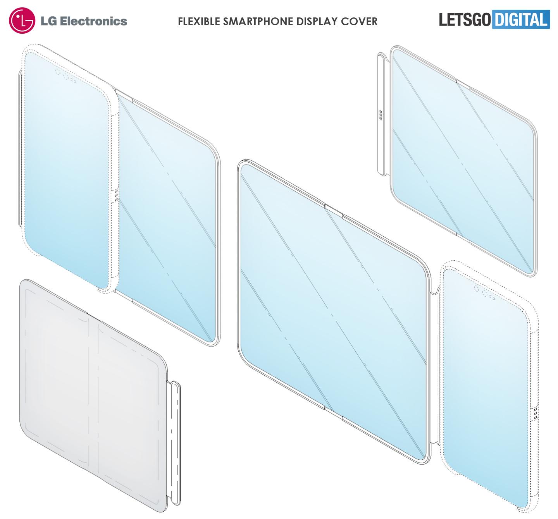 LG smartphone met display hoesje
