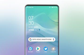 Oppo Reno smart 5G telefoon