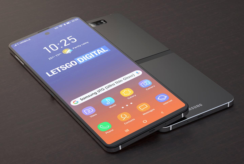 Samsung Galaxy Fold 2 opvouwbare telefoon display