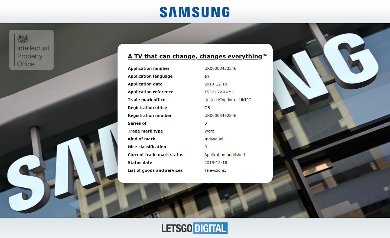 Samsung TV nieuw model