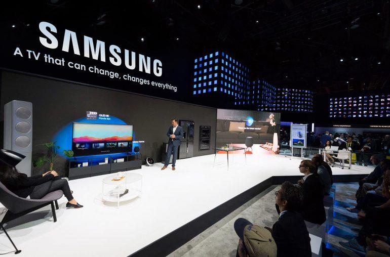 Samsung TV scherm