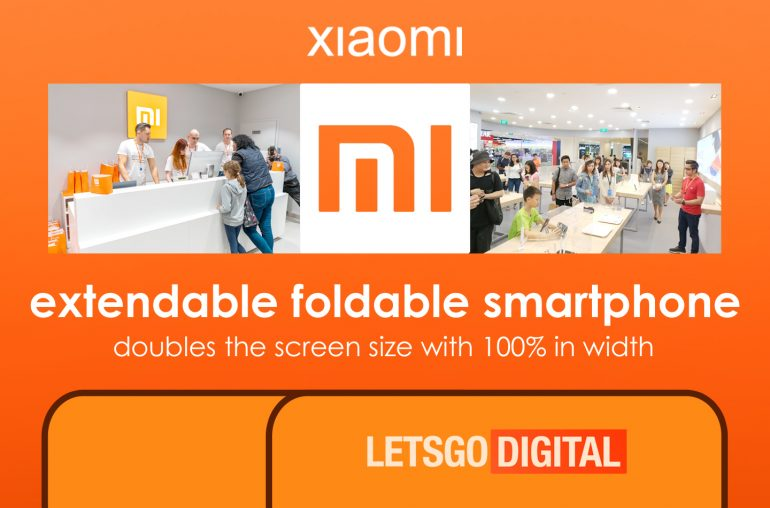 Xiaomi uittrekbare mobiele telefoon
