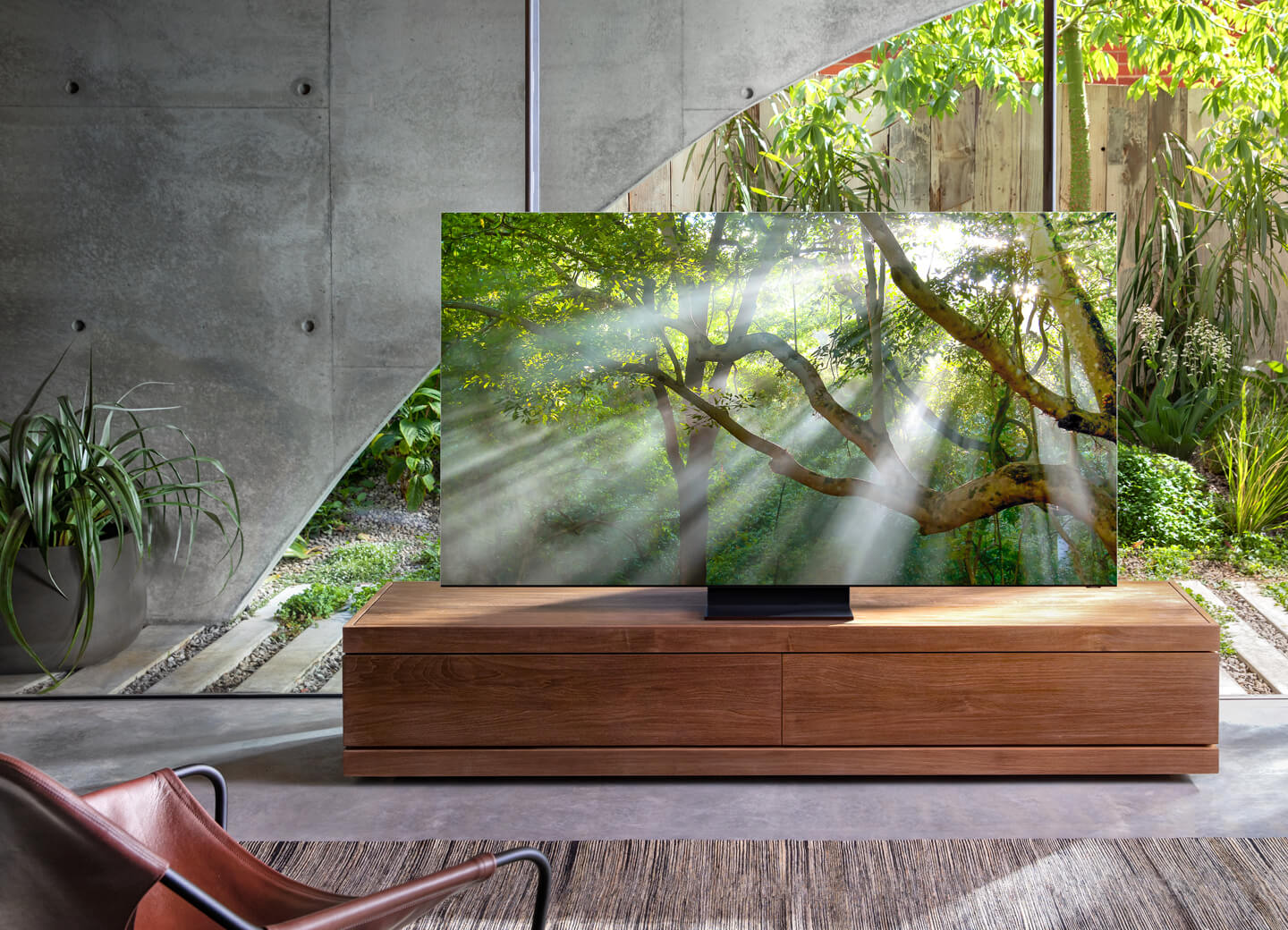 8K Samsung TV artificial intelligence