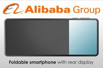 Chinese opvouwbare smartphone Alibaba
