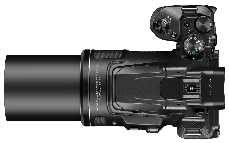 Digitale camera met superzoom