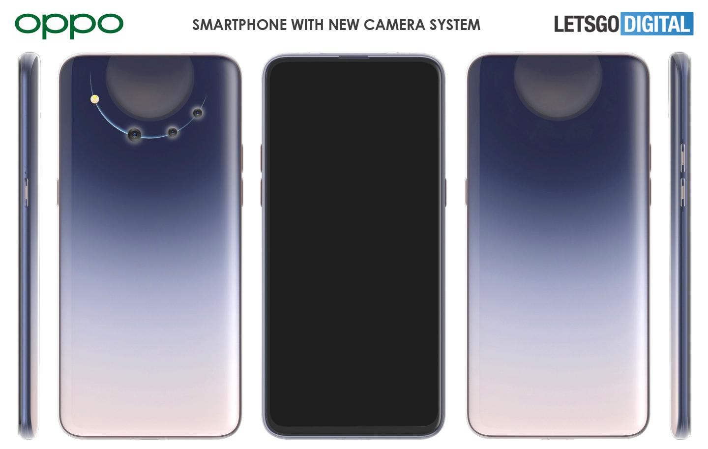 Digitale camera Oppo telefoon