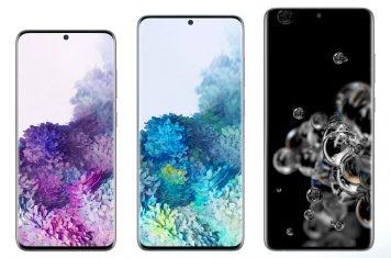 Galaxy S20 Samsung telefoons