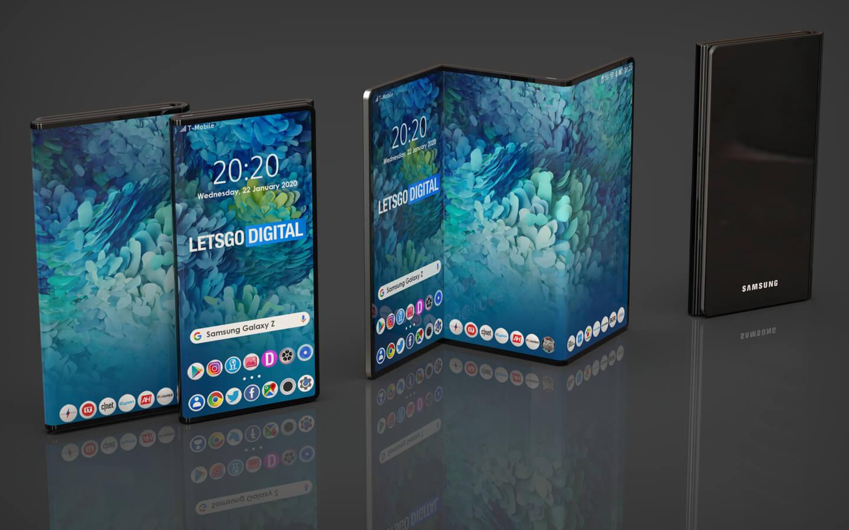 Galaxy Z opvouwbare telefoon