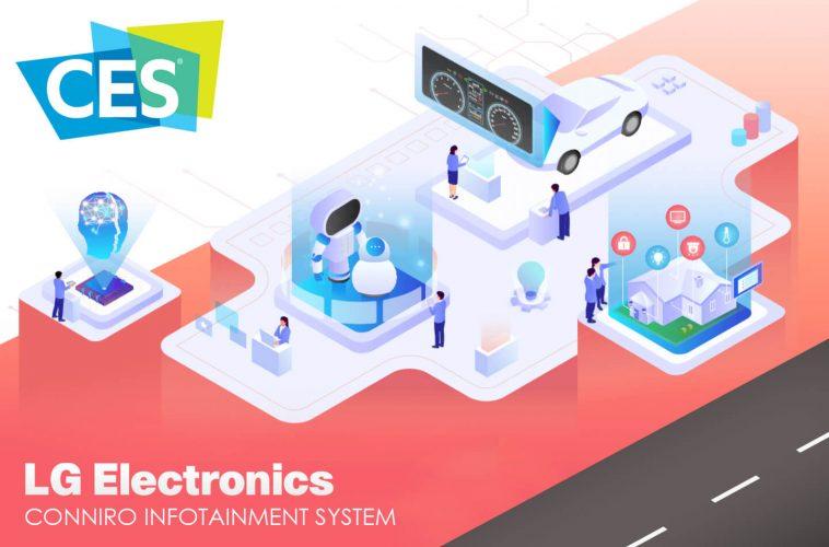LG CES 2020 infotainment systeem auto