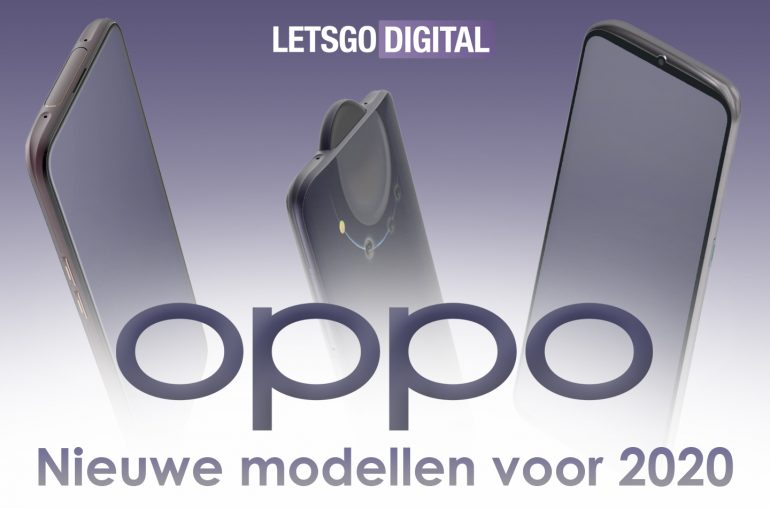 Nieuwe smartphones Oppo