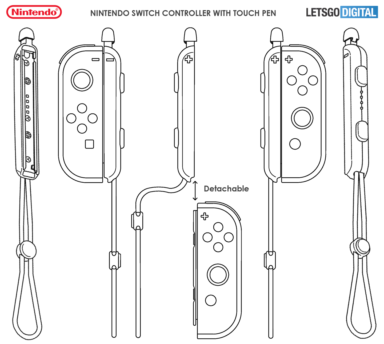 Nintendo Styluspen Switch console