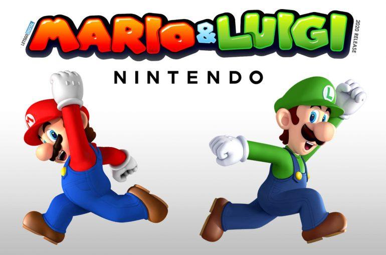 Nintendo Switch Mario Luigi 2020