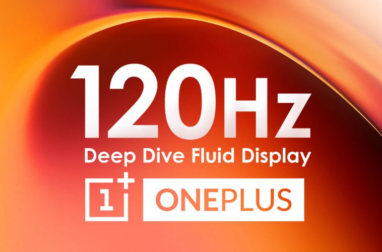 OnePlus telefoon 2020 120hz scherm