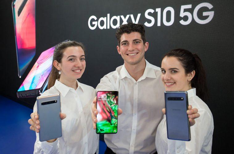 Samsung 5G telefoon 2020