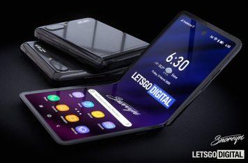 Samsung Galaxy Z Flip 2 telefoon
