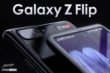 Samsung Galaxy Z Flip opvouwbare smartphone