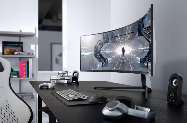 Samsung Odyssey Curved gaming monitor