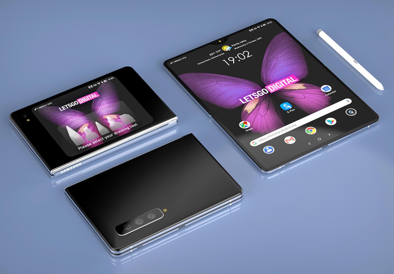 Samsung S-Pen opvouwbare telefoon