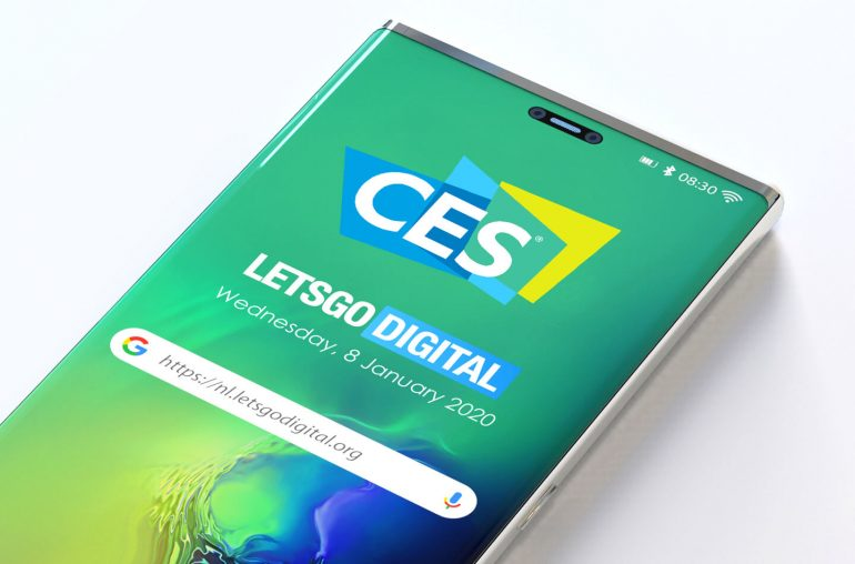 Samsung telefoon CES 2020