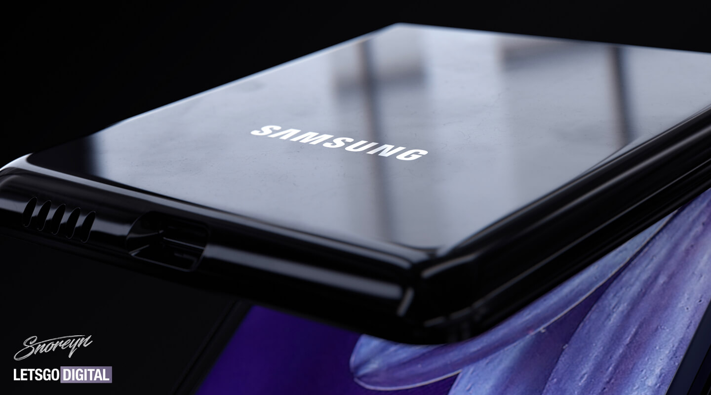 Samsung Z Flip opvouwbare telefoon