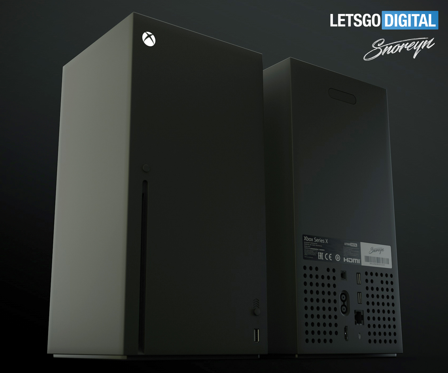 Series X console