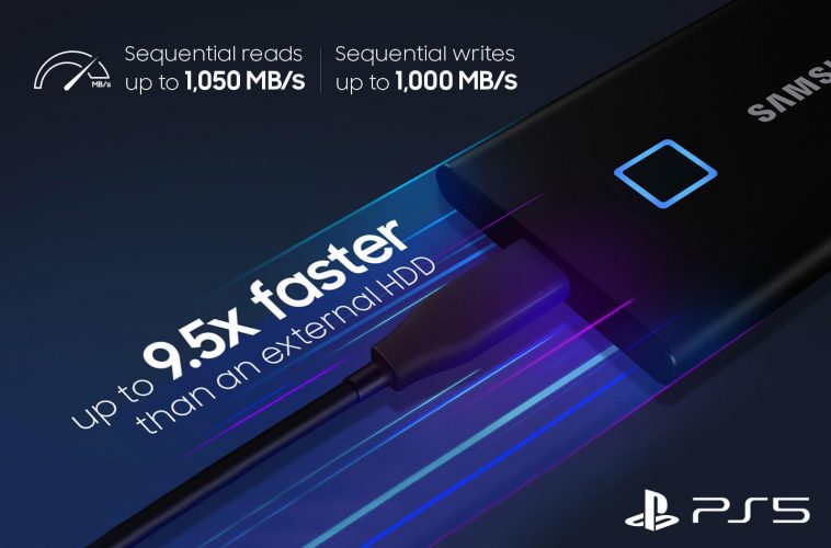 SSD schijf PS5 Samsung