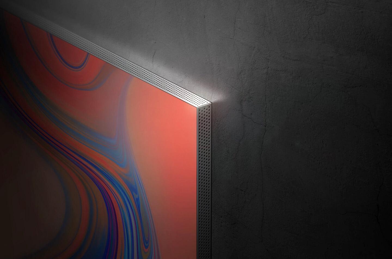 TV zonder schermranden