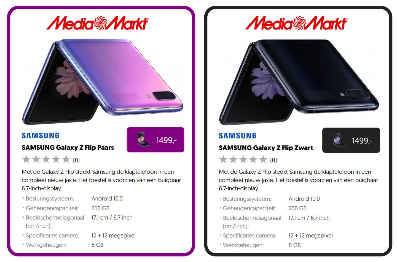 Galaxy Z Flip Mediamarkt