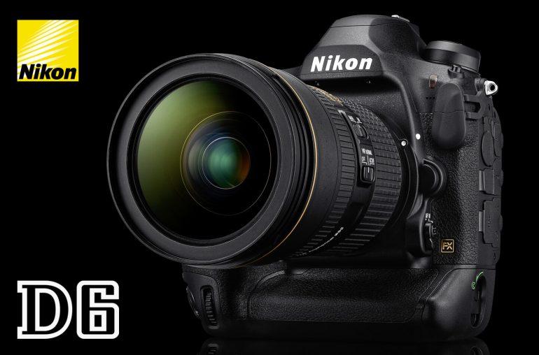 Nikon D6 full-frame DSLR