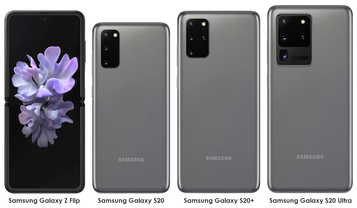 Samsung Galaxy 2020 line-up