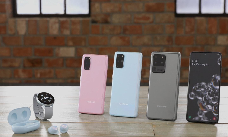Samsung Galaxy S20 persbericht