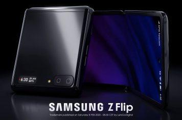 Samsung Z Flip opvouwbare smartphone