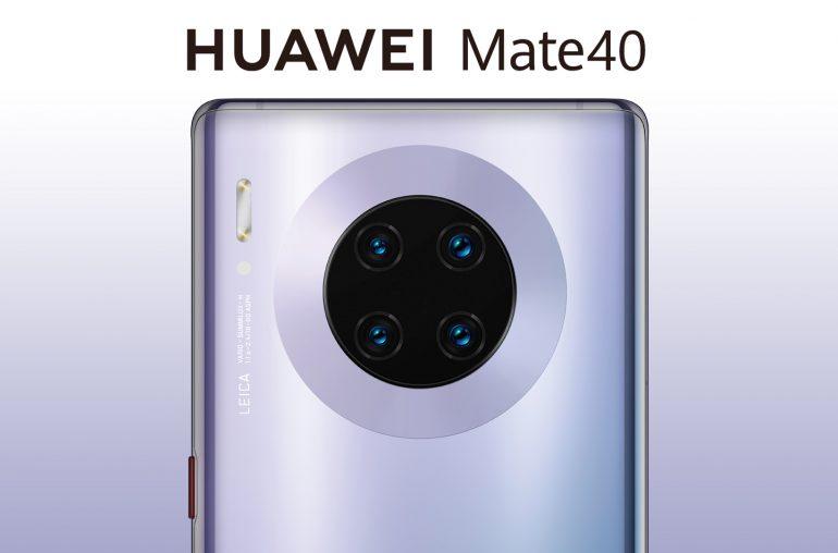 Huawei Mate 40 smartphone camera