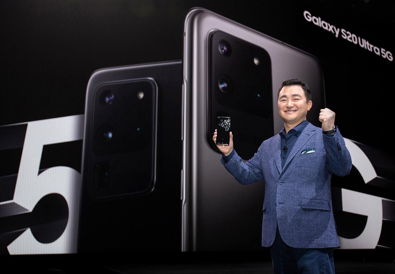 Samsung 5G smartphone