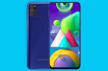 Samsung Galaxy M21 budget telefoon