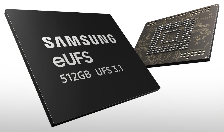Samsung geheugen smartphones