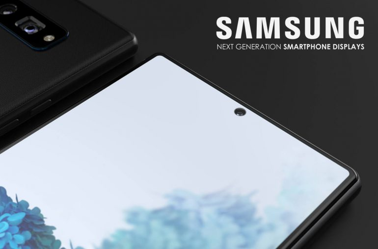 Samsung smartphone display Galaxy modellen