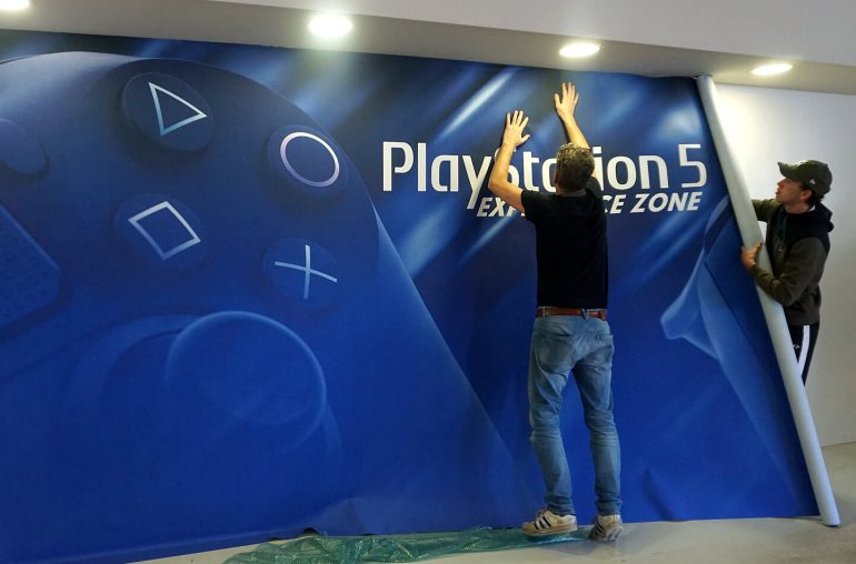 Sony Playstation 5 game museum
